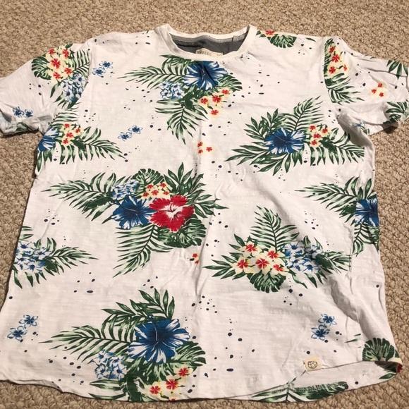 Men's Hawaiian T Shirt
